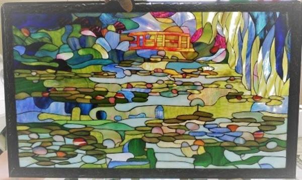 ジヴェルニーの蓮の池:制作 奥田晃三さんのサムネイル