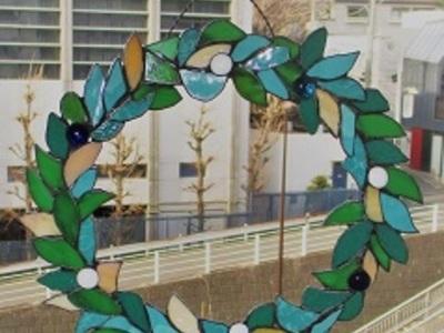 2019.2.26. 「オリーブの冠」飾り  :制作 高橋典子 さん