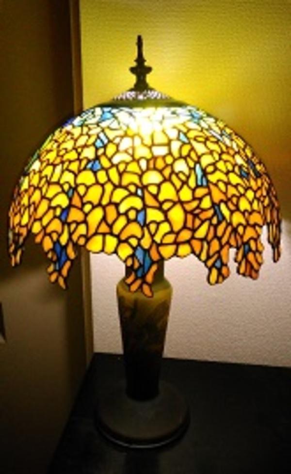 ラバーナム(黄花藤)のランプ