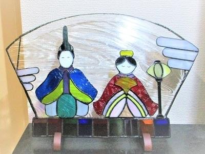 2019.5.11. ステンドグラスの部屋飾り  :制作 村田真沙代 さん