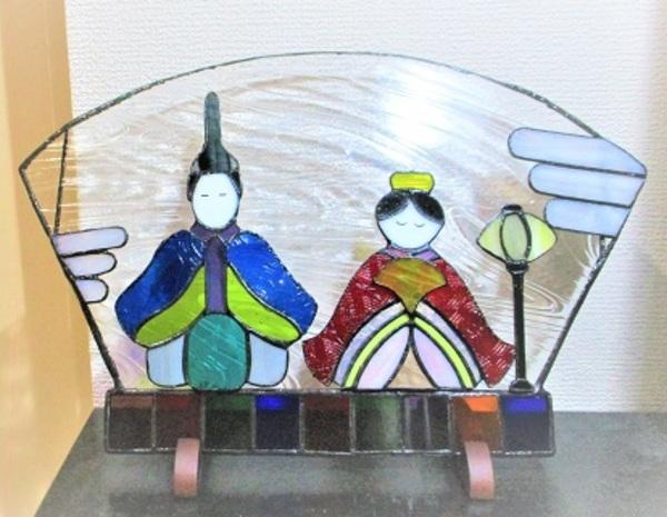 2019.5.11. ステンドグラスの部屋飾り  :制作 村田真沙代 さんのサムネイル
