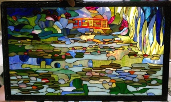ジヴェル二ーの庭;睡蓮の池