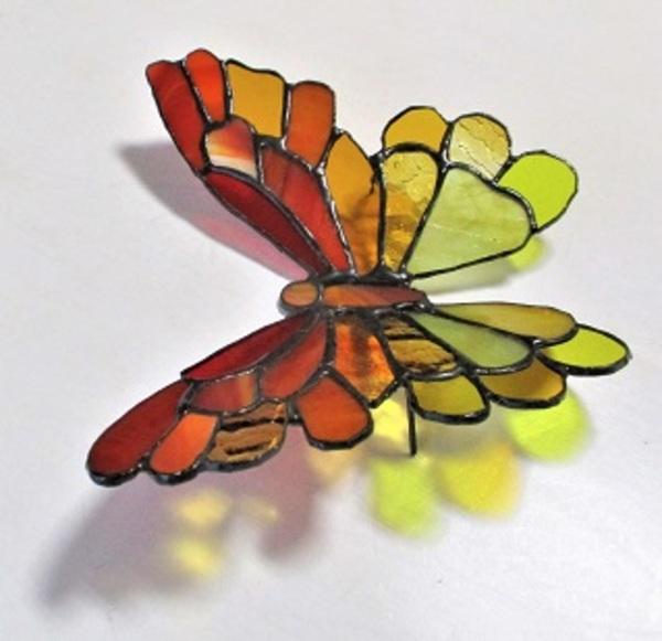 タテハチョウの置き飾り