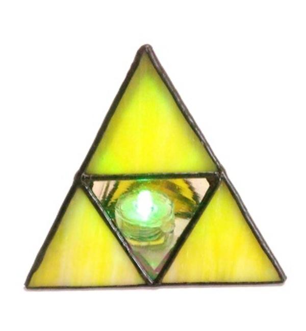 正三角錐のインテリアライト