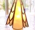 2019.9.28. ダブルハープのお休みランプ  :制作 渡辺麻美 さん