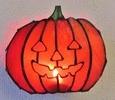2019.10.26. Small  Halloween:かぼちゃのランタン  :制作 佐々木知美 さん