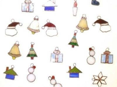 2019.10.24. クリスマスのオーナメント  :制作 横山千鶴 さん