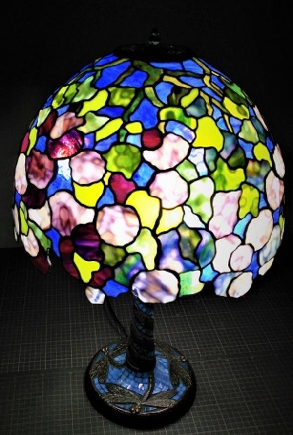 TIFFANY TABLE  LAMP 『HYDRANGEA』