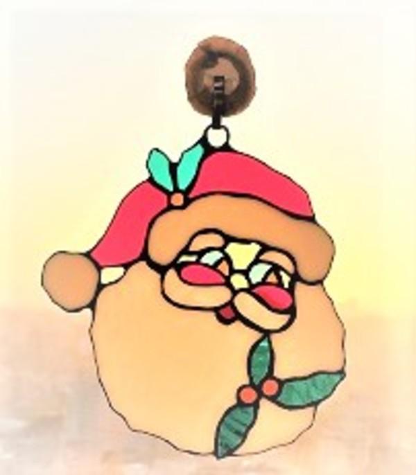 2019.12.12. ステンドグラスのサンタ  :制作 中原はるか さんのサムネイル
