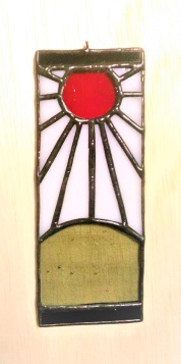 2019.12.25. 旭日昇天の壁飾り  :制作 田中優衣 さんのサムネイル