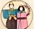 2020.1.17. 雛祭り飾り  :制作 三井美智子 さん
