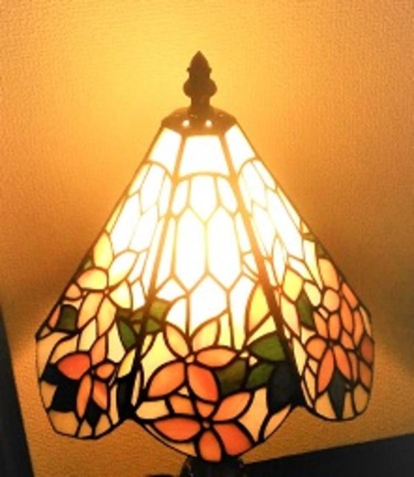 6面体の花ランプ