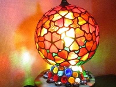 2020.2.13.   球体ランプ「さくら」  :今村寿彦 さん