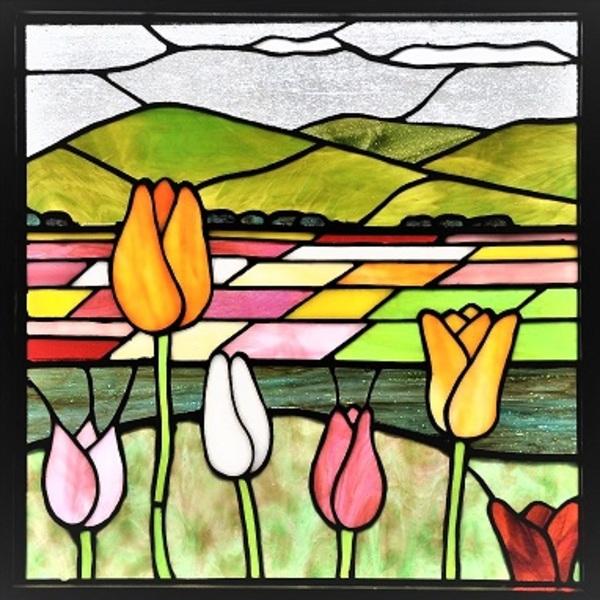 2020.3.3. 赤・白・黄色 チューリップが咲いた  :制作 山下清明 さんのサムネイル