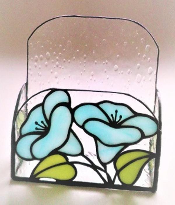 2020.3.7. ステンドグラスの「状差し」  :制作 菊地裕子 さんのサムネイル