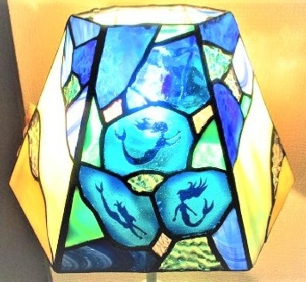 2018.8.22. 海と貝殻のランプ  :制作 菊地碧 さんのサムネイル