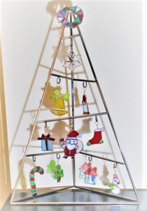 2018.12.22. クリスマス・オーナメント  :制作 高橋典子 さんのサムネイル
