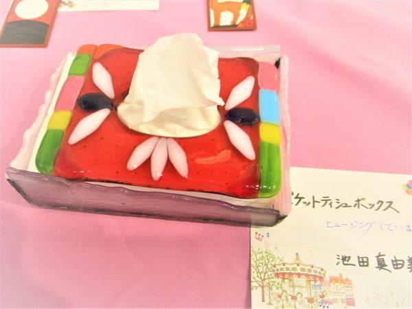 (38) ポケットテッシュボックス :制作 池田真由美 さんのサムネイル