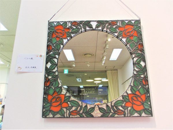 (44)  バラの鏡  :制作 国広奈緒美 さんのサムネイル