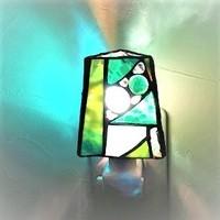 2018.8.2.  お休みランプ(4個 その1)  :制作 西野法子 さんのサムネイル