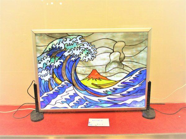 (6)富嶽36景 神奈川沖浦の図(北斎):制作 奥田晃三 さんのサムネイル