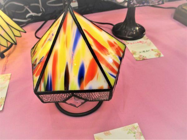 (84)  5面体のランプ  :制作 五十嵐房代 さんのサムネイル