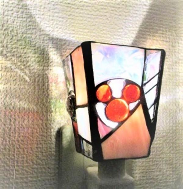 2018.10.24.   お休みランプ(紅葉)  :制作 西野法子 さんのサムネイル