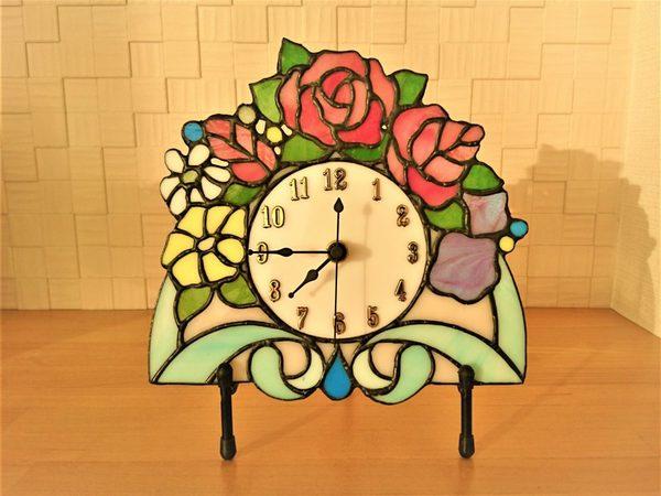 2018.12.21. 花の時計  :制作 金森美恵 さんのサムネイル