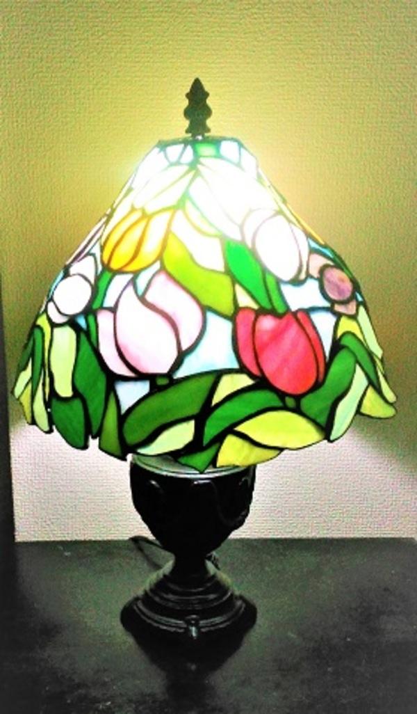 2020.6.11.     チューリップのランプ  :制作 平舘眞理 さんのサムネイル