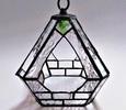 2020.11.3. ステンドグラスの吊りテラリウム  :制作 松山園子 さん