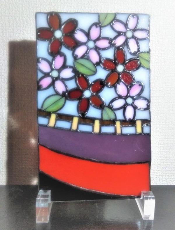 2020.11.30. 花札飾り「桜に幕」  :制作 岩橋利英 さんのサムネイル