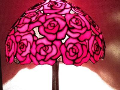 2020.12.23. 真っ赤な薔薇のランプ  :制作 Bae   Heyjin さん