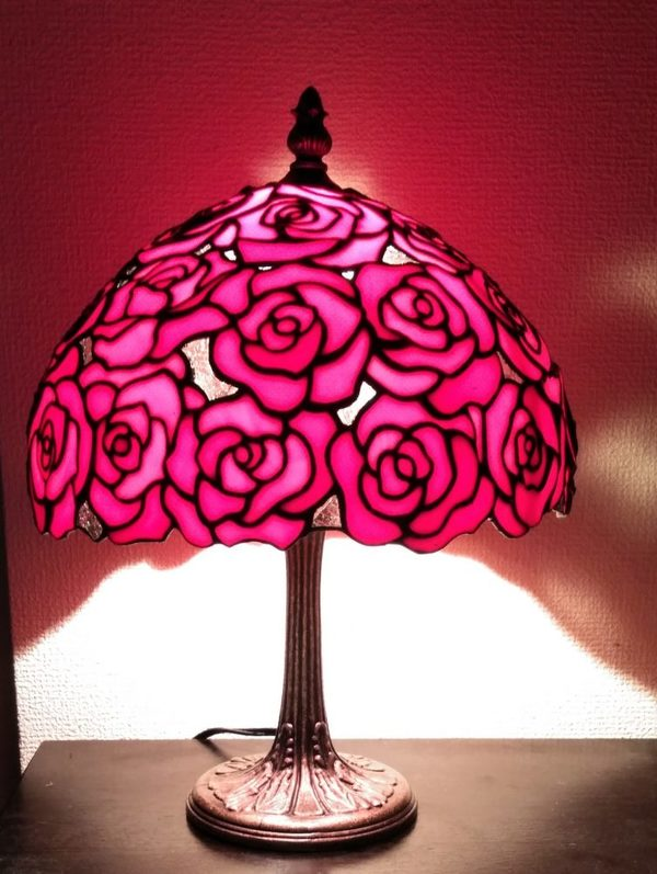 2020.12.23. 真っ赤な薔薇のランプ  :制作 Bae   Heyjin さんのサムネイル