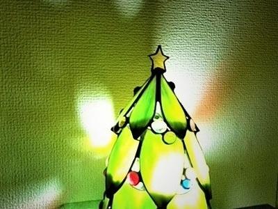 2020.12.17.    ミニクリスマスツリー  :制作 水川涼子 さん