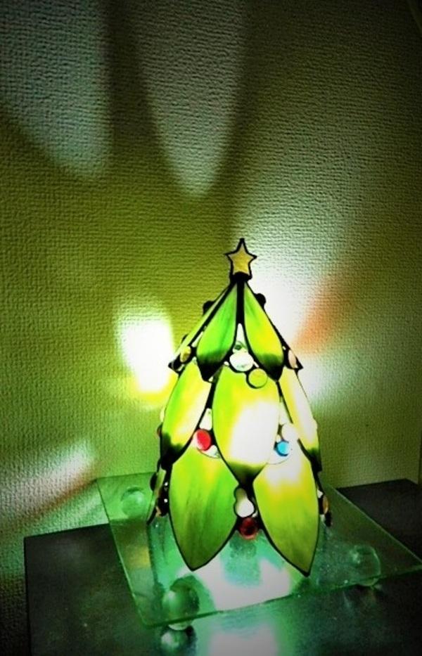 2020.12.17.    ミニクリスマスツリー  :制作 水川涼子 さんのサムネイル