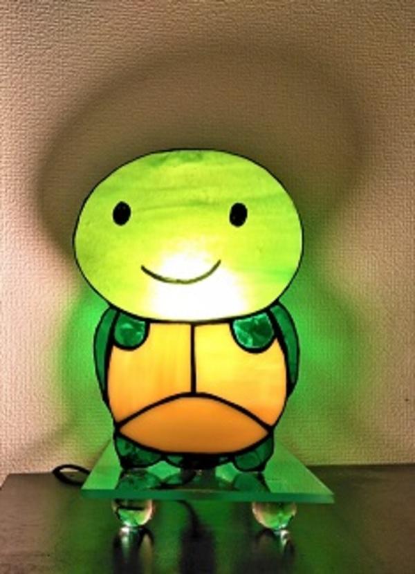 可愛い亀ライト