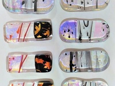 2021.4.8. ガラスの箸置き  :制作 国広奈緒美 さん