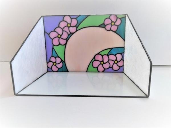 2021.4.3. ステンドグラスの化粧BOX  :制作 金森美恵 さんのサムネイル