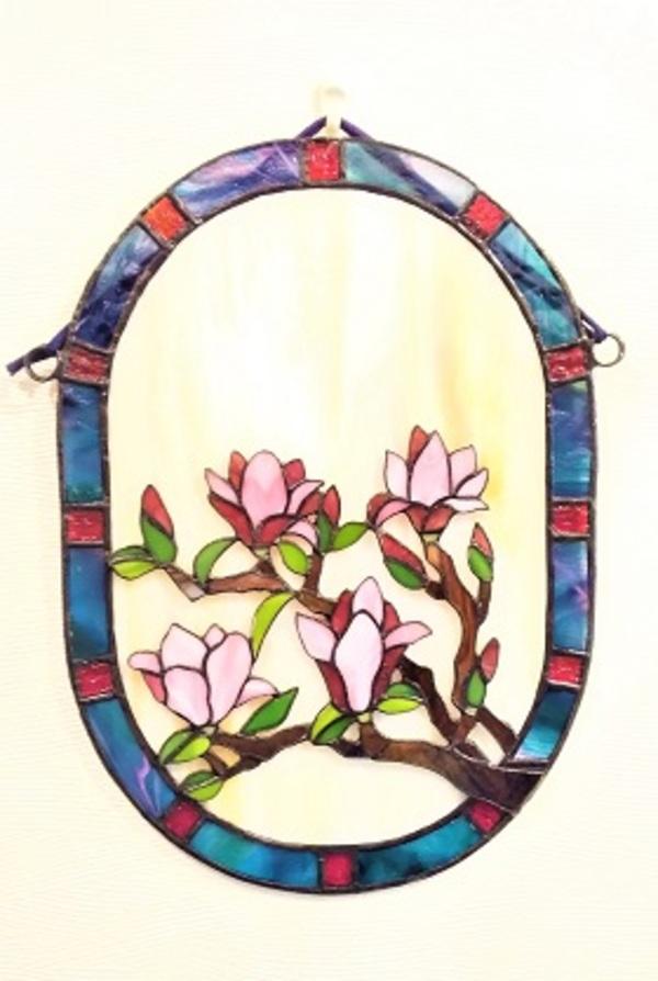 2021.6.10. 吊り飾り「木蓮」  :制作 三井美智子 さんのサムネイル
