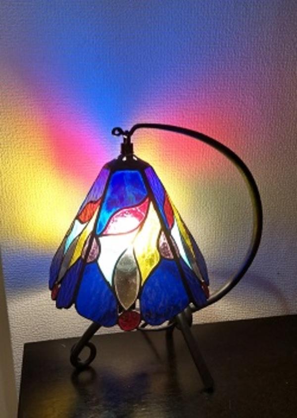 2021.7.22. 5面体の吊りランプ  :制作 神るみ子 さんのサムネイル
