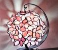 2021.10.23.  ピンクの花ランプ  :制作 M-you さん
