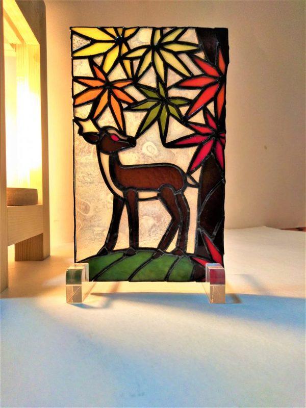 2021.10.4. 紅葉と鹿   :制作 岩橋利英 さんのサムネイル