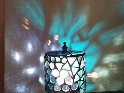2021.10.15.  円筒形の卓上ランプ  :制作 西野法子 さん